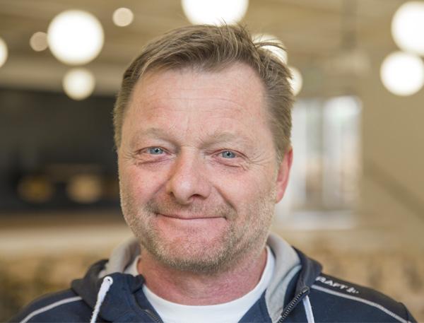 Pedel på Venø Efterskole Mogens Mundbjerg