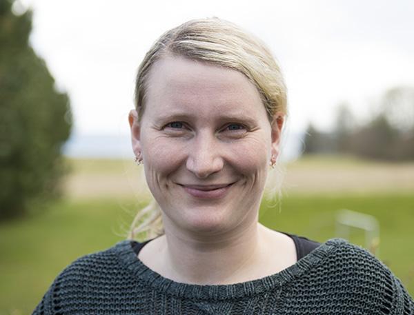 Lærer på Venø Efterskole Line Aaberg