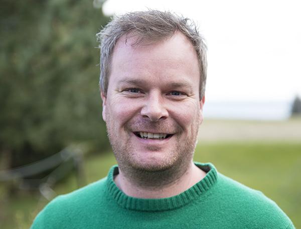 Lærer på Venø Efterskole Rasmus Grønne