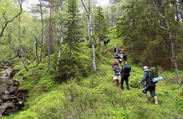 Natur og friluftsliv på Venø Efterskole