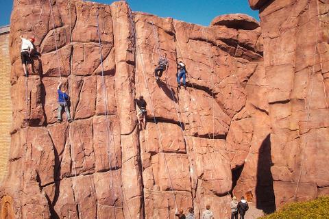 Efterskole med masser af klatring