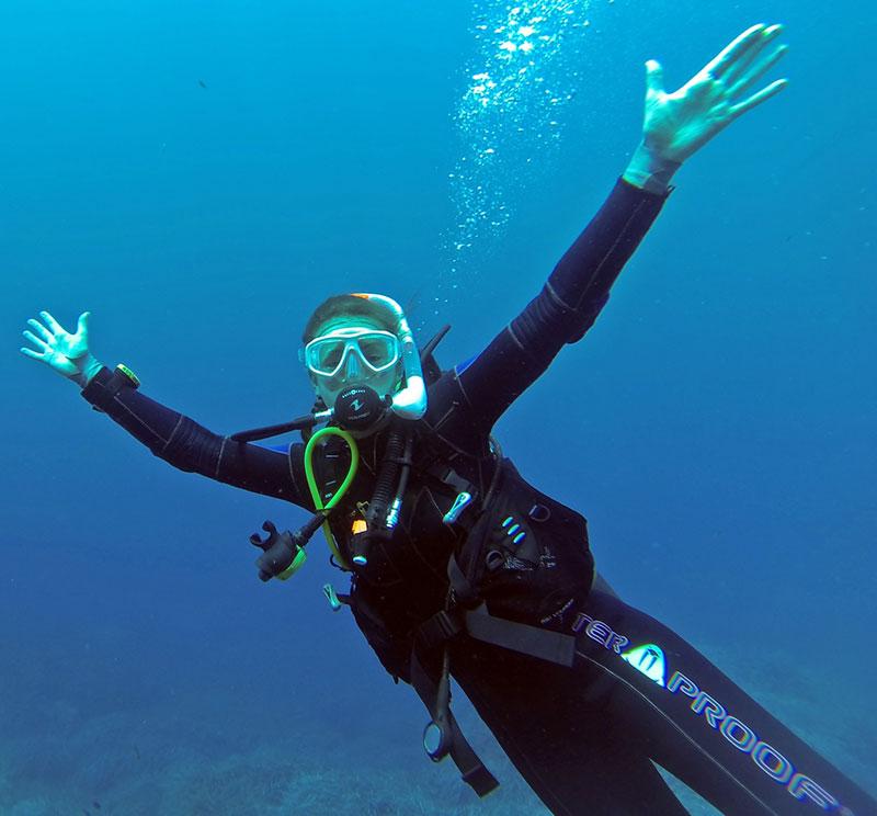 Efterskoleår med dykning